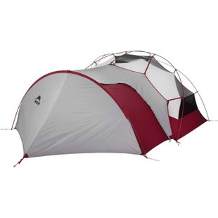 MSR Hubba NX and Elixir Gear Shed Tent - Grey