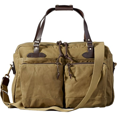 Filson 48 Hour Duffle Bag - Dark Tan