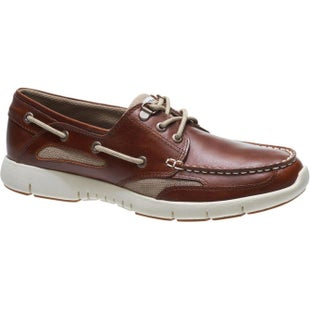 Sebago Clovehitch Lite Slip On Shoes - Brown Cinnamon Oiled Leather