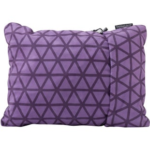 Thermarest Compressible Medium Travel Pillow - Amethyst
