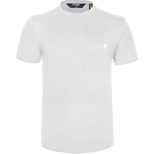 K-Way Elias Pocket Tee T Shirt - White