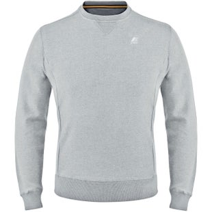 K-Way Augustine French Terry Sweater - Grey Marl