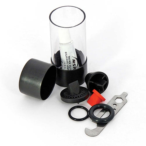 MSR Microfilter Maintenance Kit for HyperFlow Water Purification - Black