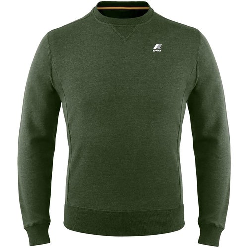 K-Way Augustine French Terry Sweater - Dark Green