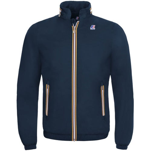 K-Way Philippe Nylon Jersey Jacket - Depth Blue