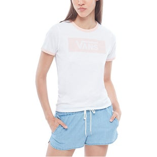 Vans Open Road Ladies T Shirt - White Evening Sand