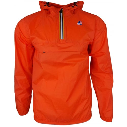 K-Way Le Vrai Leon 3.0 Jacket - Orange Flame