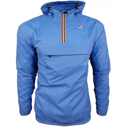 K-Way Le Vrai Leon 3.0 Jacket - Azure Blue