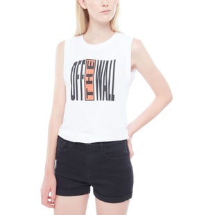 Vans Legend Stamp Ladies Tank Vest - White