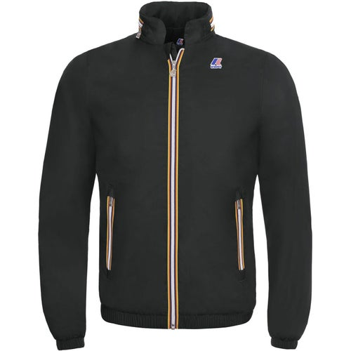 K-Way Philippe Nylon Jersey Jacket - Black