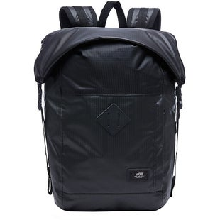 Vans Fend Roll Top Backpack - Black