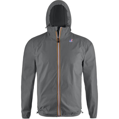 K-Way Le Vrai Claude 3.0 Jacket - Grey Smoke