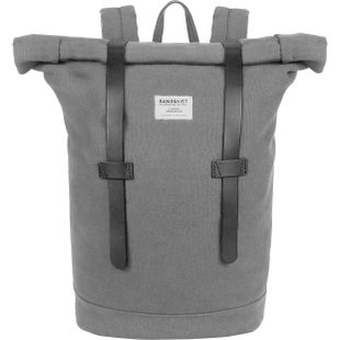 Sandqvist Stig Rolltop Backpack - Grey
