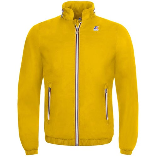 K-Way Philippe Nylon Jersey Jacket - Yellow Old