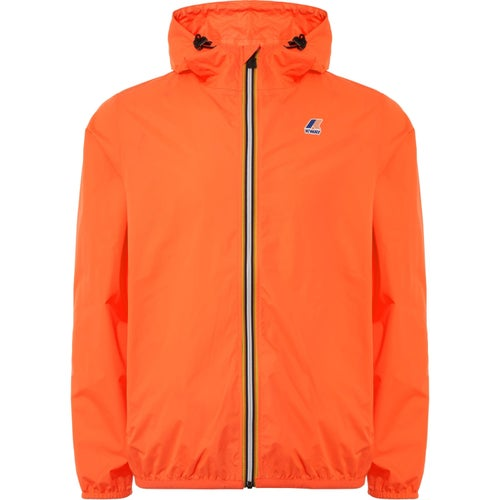 K-Way Le Vrai Claude 3.0 Jacket - Orange Flame