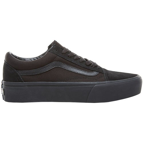 Vans Old Skool Platform Shoes - Black Black