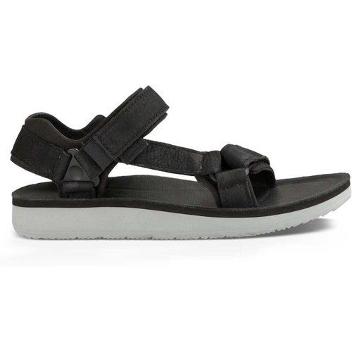 Teva Original Universal Premier Leather Ladies Sandals - Black