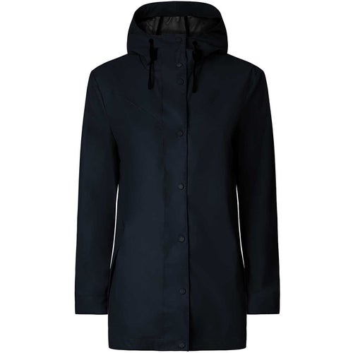 Hunter Original Light Rubberised Ladies Jacket - Navy