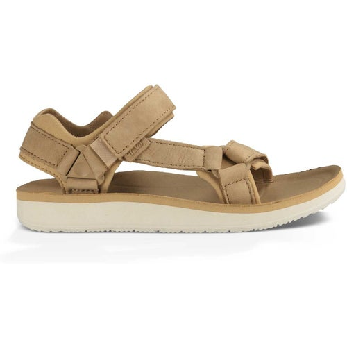 Teva Original Universal Premier Leather Ladies Sandals - Tan