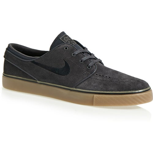 Nike SB Zoom Stefan Janoski Suede Shoes - Thunder Grey
