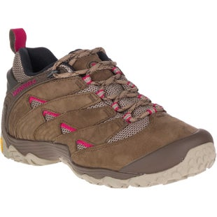 Merrell Chameleon 7 Ladies Hiking Shoes - Merrell Stone