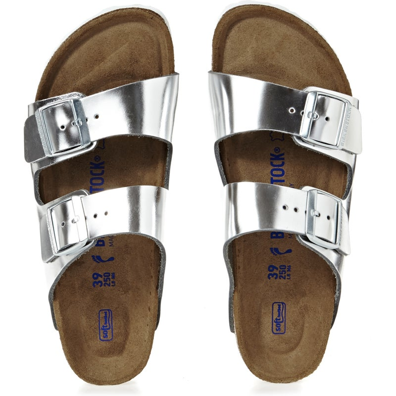 2bb195217 Birkenstock Arizona Leather Soft Footbed Narrow Sandals available ...