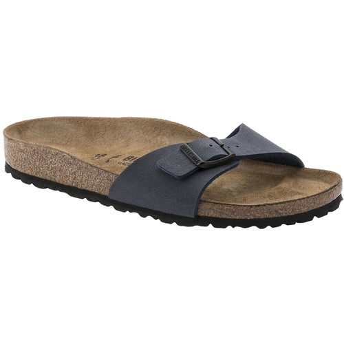 Birkenstock Madrid Birko Flor Sandals - Navy