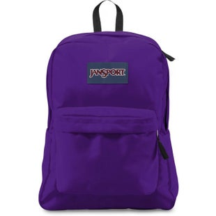 Jansport Superbreak Backpack - Blue Signature Purple