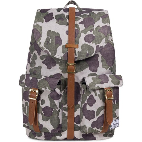Herschel Dawson Backpack - Frog Camo Tan Synthetic Leather