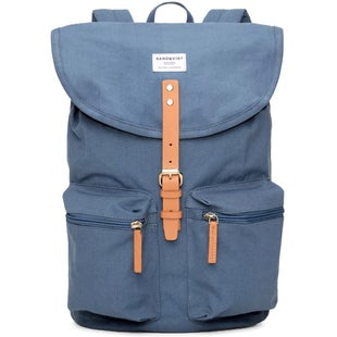 Sandqvist Roald Backpack - Dusty Blue