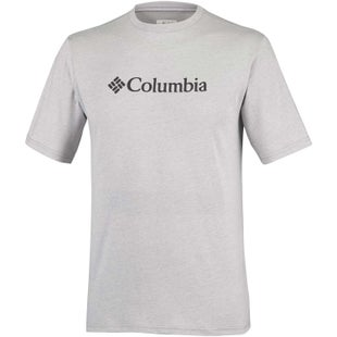 Columbia CSC Basic Logo T Shirt - Grey Heather