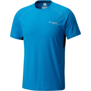Columbia Titan Ultra Tech T Shirt - Compass Blue