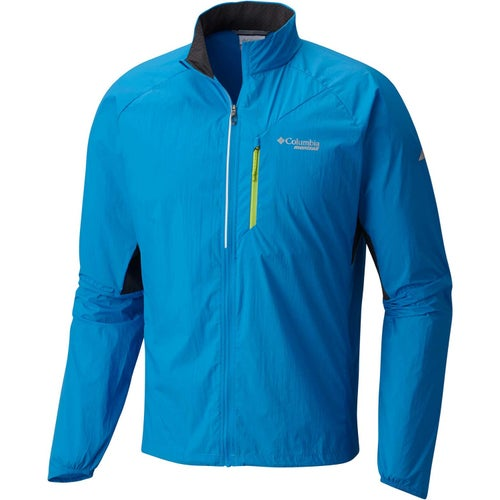 Columbia Titan Lite II Windbreaker Windproof Jacket - Compass Blue