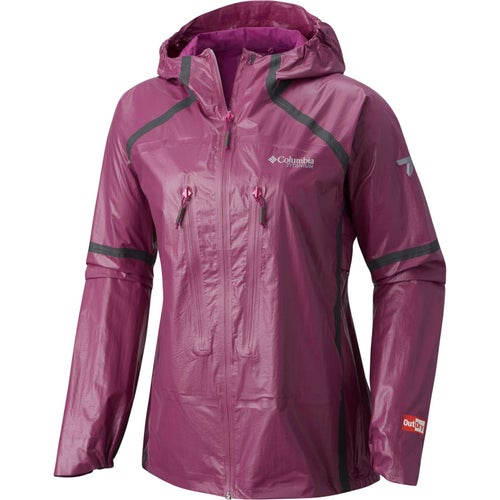 Columbia Outdry Ex Featherweight Shell Ladies Jacket - Intense Violet