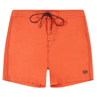 Deus Ex Machina 17 inch Stowaway Shorts - Orange Rust