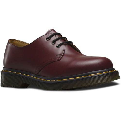 Dr Martens 1461 Smooth Shoes - Cherry Red