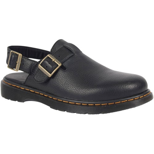 Dr Martens Jorge Rye Slingback Slip On Shoes - Black