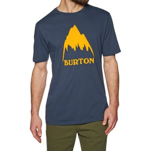 Burton Class Mountain High T Shirt - Mood Indigo