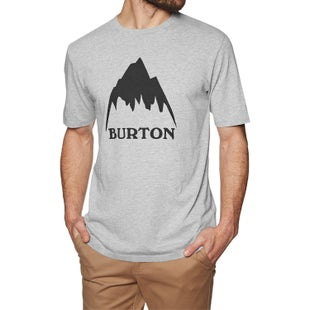Burton Class Mountain High T Shirt - Gray Heather