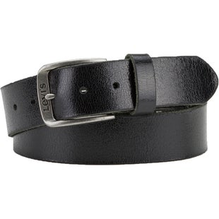 Levis Classic Leather Leather Belt - Black