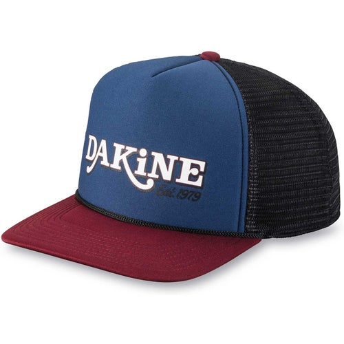 Dakine Throw Back Trucker Cap - Midnight Rosewood