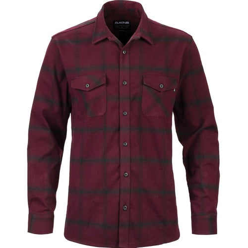 Dakine Underwood Flannel Shirt - Plum Shadow