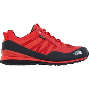 North Face Verto Plasma II GTX Hiking Shoes - Fiery Red TNF Black