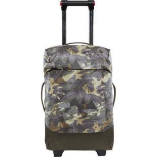 North Face Stratoliner S Luggage - English Green Tropical Camo New Taupe Green