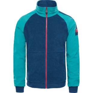 North Face Capsule 1990 Staff Fleece - Porcelain Green Blue Teal Green