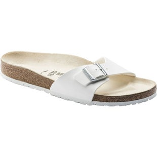 Birkenstock Madrid Birko Flor Ladies Sandals - White