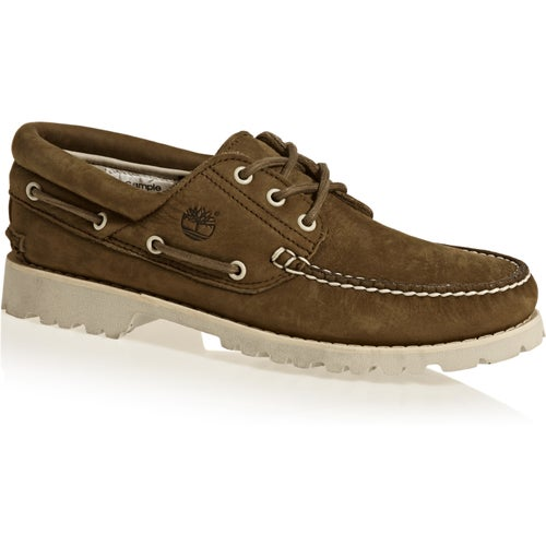 Timberland Chilmark 3 Eye Handsewn Shoes - Dark Earth Barefoot Buffed