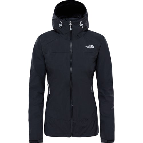 North Face Stratos Ladies Jacket - TNF Black TNF Black