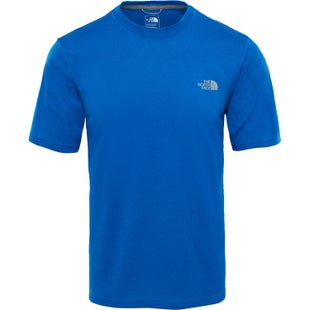 North Face MA Graphic Reaxion Amp Crew T Shirt - Turkish Sea Heather