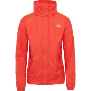 North Face Resolve Ladies Jacket - Fire Brick Red Fire Brick Red